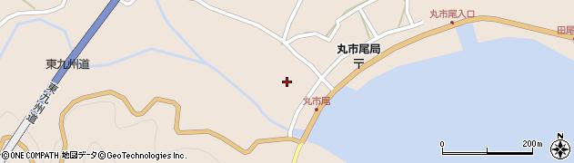 大分県佐伯市蒲江大字丸市尾浦1320周辺の地図