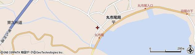 大分県佐伯市蒲江大字丸市尾浦1327周辺の地図