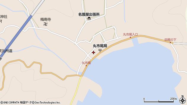 大分県佐伯市蒲江大字丸市尾浦周辺の地図