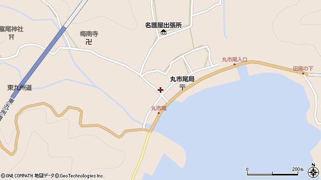 大分県佐伯市蒲江大字丸市尾浦939周辺の地図