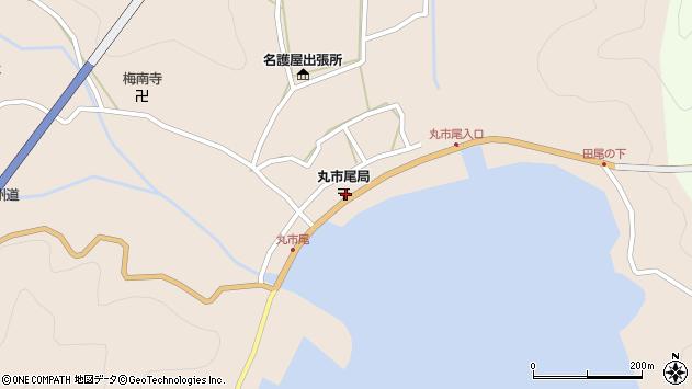 大分県佐伯市蒲江大字丸市尾浦595周辺の地図