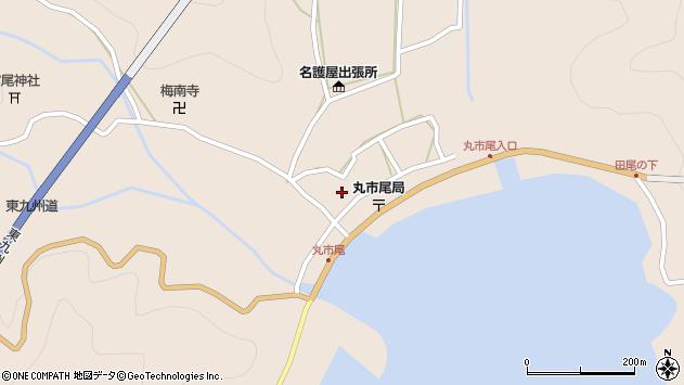 大分県佐伯市蒲江大字丸市尾浦945周辺の地図