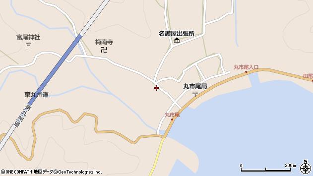 大分県佐伯市蒲江大字丸市尾浦1286周辺の地図