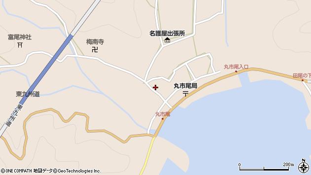 大分県佐伯市蒲江大字丸市尾浦985周辺の地図