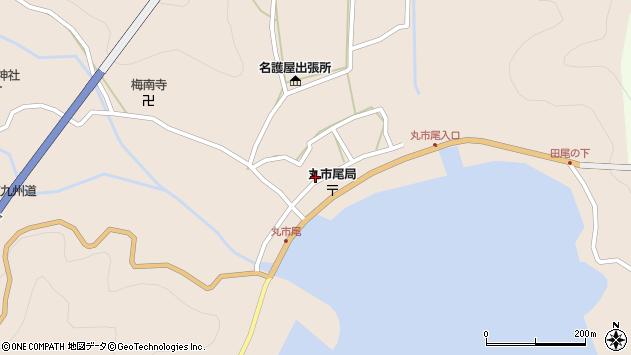 大分県佐伯市蒲江大字丸市尾浦932周辺の地図