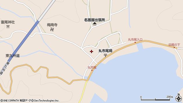 大分県佐伯市蒲江大字丸市尾浦949周辺の地図