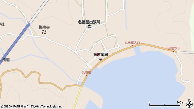 大分県佐伯市蒲江大字丸市尾浦601周辺の地図