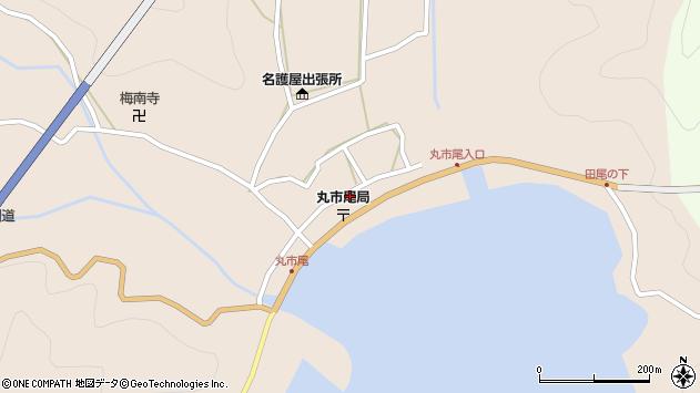 大分県佐伯市蒲江大字丸市尾浦598周辺の地図