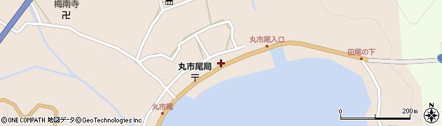 大分県佐伯市蒲江大字丸市尾浦554周辺の地図