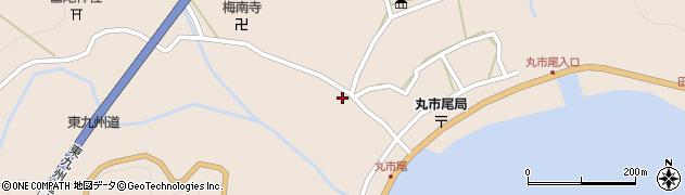 大分県佐伯市蒲江大字丸市尾浦1285周辺の地図