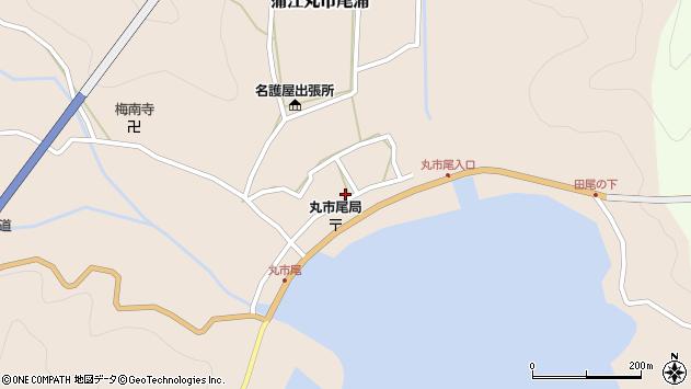 大分県佐伯市蒲江大字丸市尾浦590周辺の地図