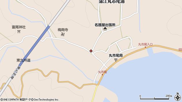 大分県佐伯市蒲江大字丸市尾浦965周辺の地図