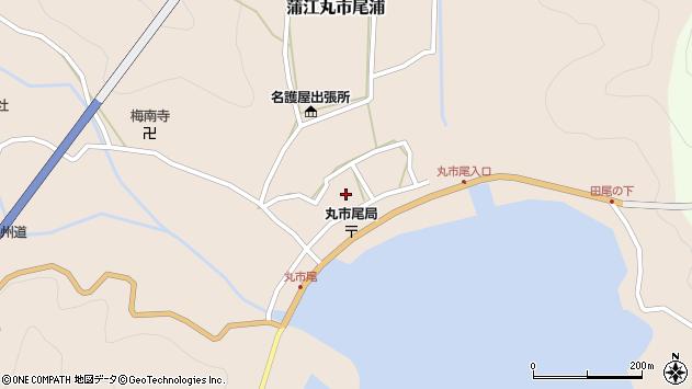 大分県佐伯市蒲江大字丸市尾浦605周辺の地図