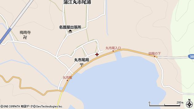 大分県佐伯市蒲江大字丸市尾浦513周辺の地図