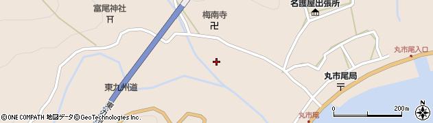 大分県佐伯市蒲江大字丸市尾浦1228周辺の地図