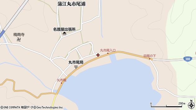 大分県佐伯市蒲江大字丸市尾浦498周辺の地図
