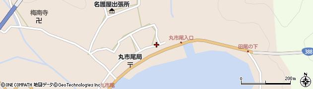 大分県佐伯市蒲江大字丸市尾浦516周辺の地図