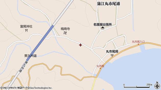 大分県佐伯市蒲江大字丸市尾浦1270周辺の地図