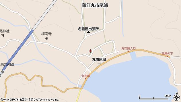 大分県佐伯市蒲江大字丸市尾浦922周辺の地図