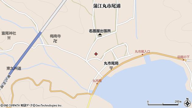 大分県佐伯市蒲江大字丸市尾浦914周辺の地図