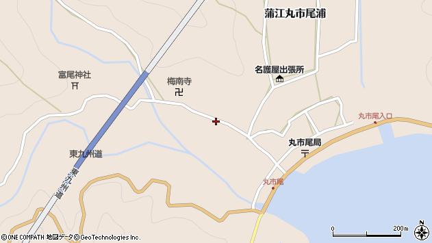 大分県佐伯市蒲江大字丸市尾浦1248周辺の地図