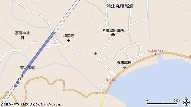 大分県佐伯市蒲江大字丸市尾浦990周辺の地図