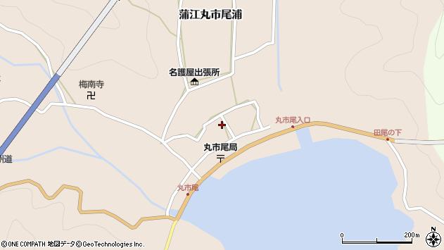大分県佐伯市蒲江大字丸市尾浦585周辺の地図