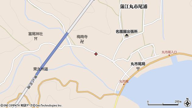 大分県佐伯市蒲江大字丸市尾浦1247周辺の地図