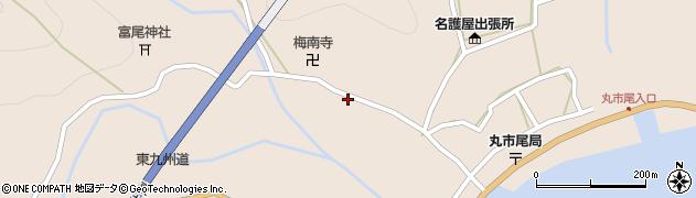 大分県佐伯市蒲江大字丸市尾浦1246周辺の地図