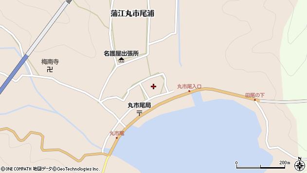 大分県佐伯市蒲江大字丸市尾浦547周辺の地図