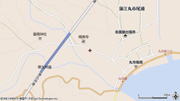 大分県佐伯市蒲江大字丸市尾浦1234周辺の地図