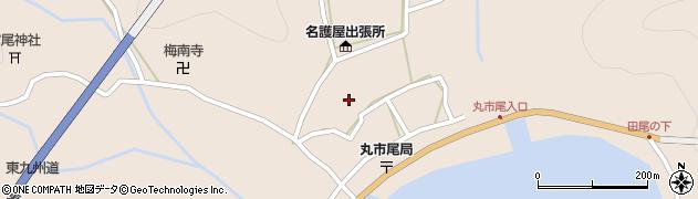 大分県佐伯市蒲江大字丸市尾浦584周辺の地図