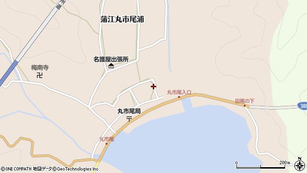 大分県佐伯市蒲江大字丸市尾浦520周辺の地図