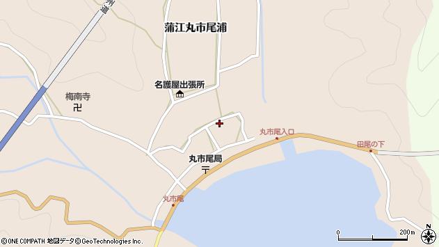 大分県佐伯市蒲江大字丸市尾浦545周辺の地図
