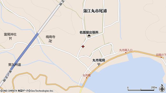 大分県佐伯市蒲江大字丸市尾浦220周辺の地図