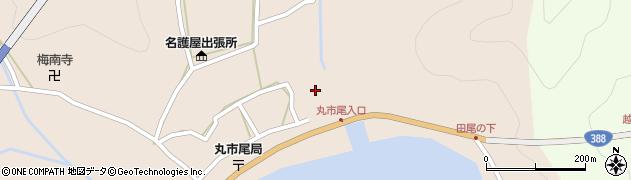 大分県佐伯市蒲江大字丸市尾浦496周辺の地図