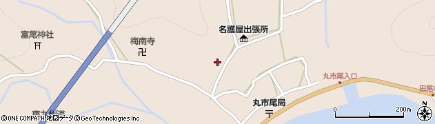 大分県佐伯市蒲江大字丸市尾浦983周辺の地図