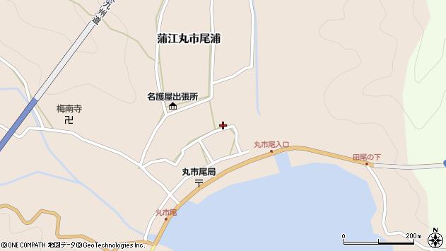 大分県佐伯市蒲江大字丸市尾浦536周辺の地図