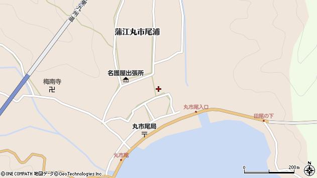 大分県佐伯市蒲江大字丸市尾浦538周辺の地図