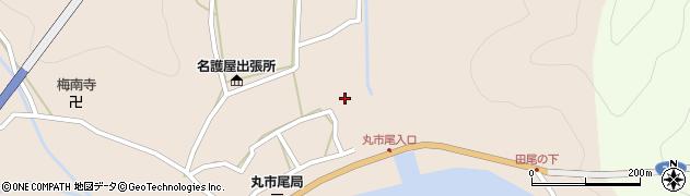 大分県佐伯市蒲江大字丸市尾浦525周辺の地図