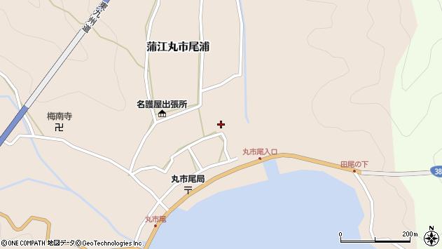 大分県佐伯市蒲江大字丸市尾浦527周辺の地図