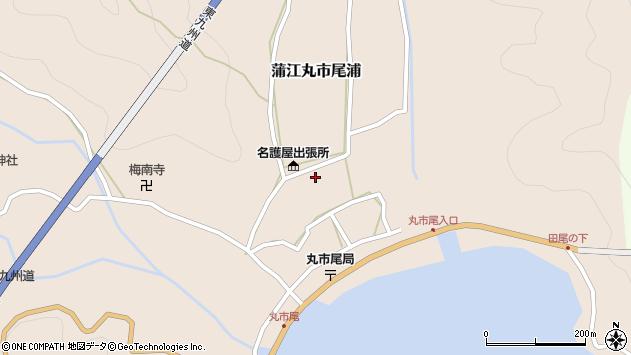 大分県佐伯市蒲江大字丸市尾浦575周辺の地図