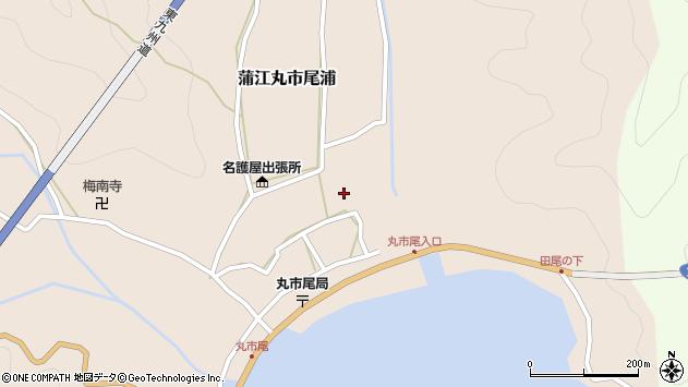 大分県佐伯市蒲江大字丸市尾浦533周辺の地図
