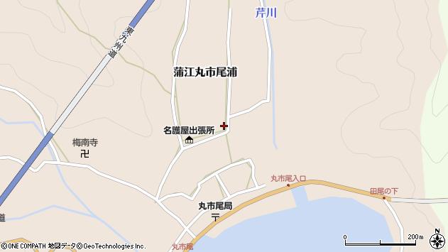 大分県佐伯市蒲江大字丸市尾浦634周辺の地図