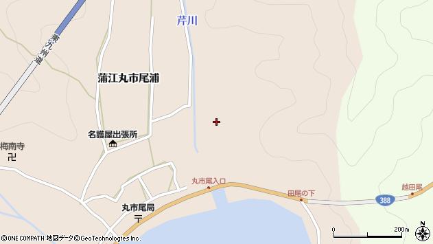 大分県佐伯市蒲江大字丸市尾浦21周辺の地図