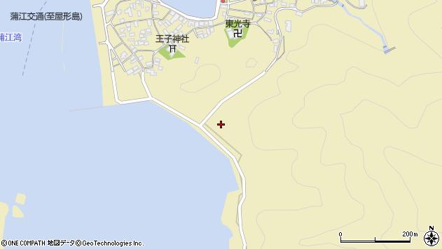 大分県佐伯市蒲江大字蒲江浦143周辺の地図