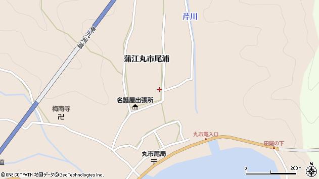 大分県佐伯市蒲江大字丸市尾浦636周辺の地図
