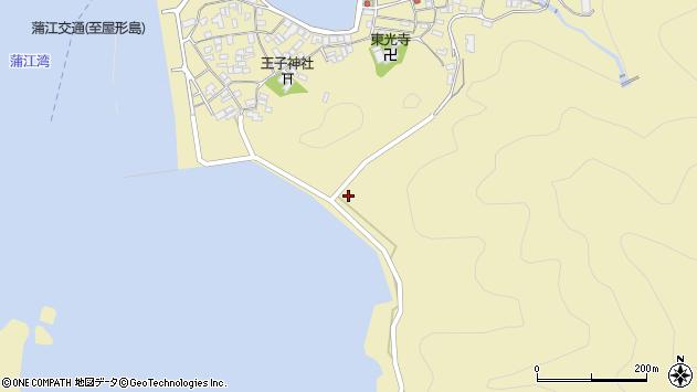 大分県佐伯市蒲江大字蒲江浦147周辺の地図