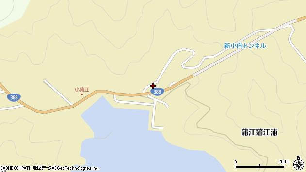 大分県佐伯市蒲江大字蒲江浦4730周辺の地図