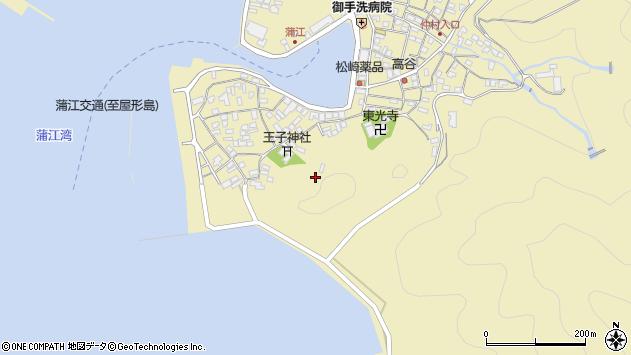 大分県佐伯市蒲江大字蒲江浦2481周辺の地図